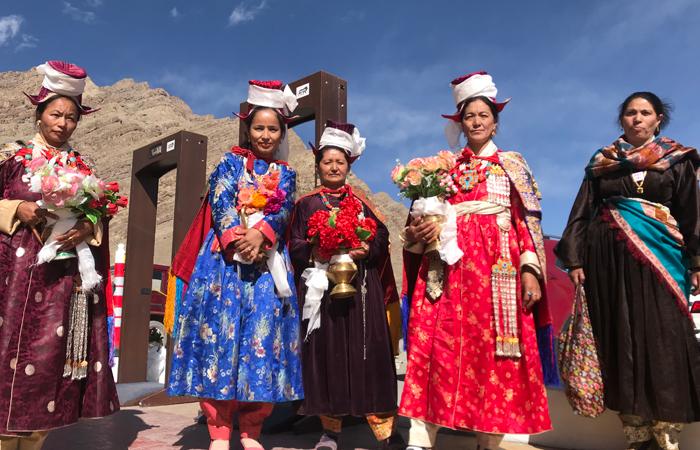 A group of Ladakhi
